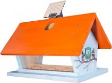 Futterhaus, farbig mit wechselnden Motiven