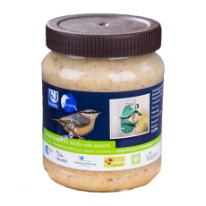 Futterglas mit Insekten für das Erdnussbutter- Futterhaus