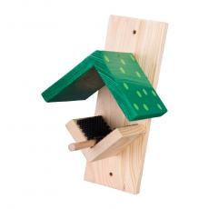 Erdnussbutter-Futterhaus dunkelgrün/hellgrün