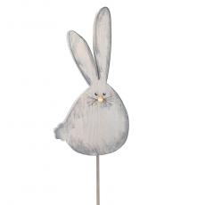 Frühlingshase 26cm grau