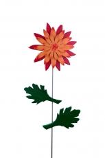 Chrysantheme orange / rot