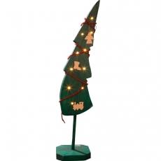 Lichtertanne geschmückt 90cm