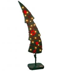 Lichtertanne geschmückt 110cm