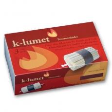 Feueranzünder aus Restholz k-lumet 3 Stück